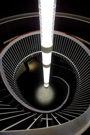 Edinburgh Festival: Staircase at the Usher Hall, Edinburgh