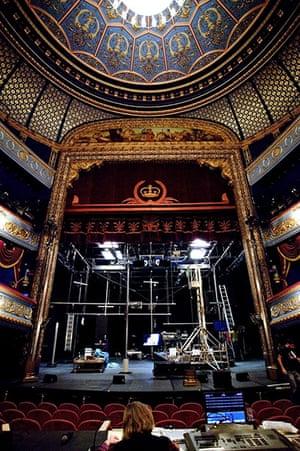 Edinburgh Festival: Stage set for Vieux Carré at the Lyceum Theatre, Edinburgh