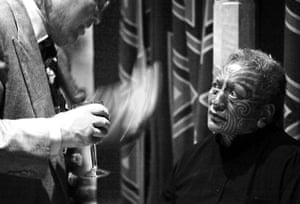 Edinburgh Festival: Tame Iti, from Tempest: Without a Body by Mau at the Edinburgh Playhouse