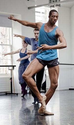 Edinburgh Festival: Choreographer Alonzo King's Lines Ballet from San Francisco in rehearsal
