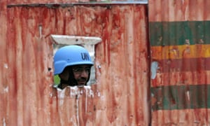 UN peacekeeper in Congo