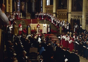 Pope 1982 Visit: Pope John Paul II visits Canterbury Cathedral in 1982