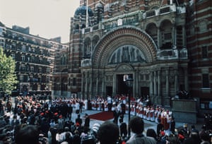 Pope 1982 Visit: Pope's Visit to Westminster Cathedral 1982