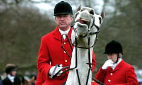 tony blair fox hunters alexander chancellor