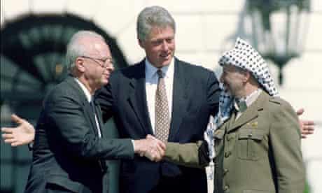 Yasser Arafat Rabin Middle East talks