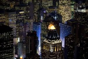 Aerial Views Of New York : Aerial view of Manhattan