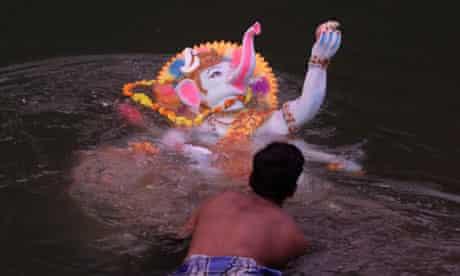 Idol to the Hindu god Ganesh