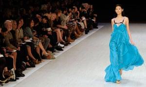 Matthew Williamson at London fashion week