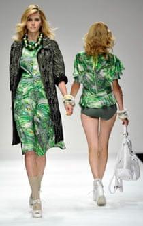 Betty Jackson at London fashion week