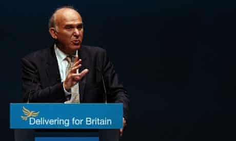 Vince Cable conference