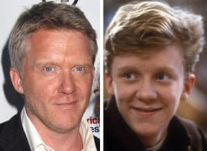 Breakfast Club reunion: Anthony Michael Hall at the reunion and in The Breakfast Club