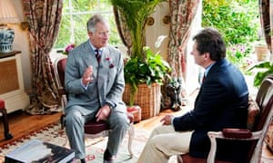 Highgrove Alan Meets Prince Charles titchmarsh