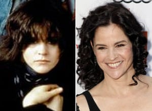 Breakfast Club reunion: Ally Sheedy in The Breakfast club and at the reunion