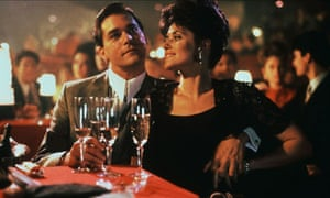 Ray Liotta and Lorraine Bracco as Henry and Karen Hill in Martin Scorsese's original Goodfellas film