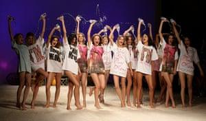 Milan Fashion Week Day 2: Frankie Morello: Milan Fashion Week Womenswear S/S 2011