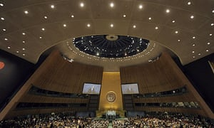 Opening of the 65th session of the UN general assembly