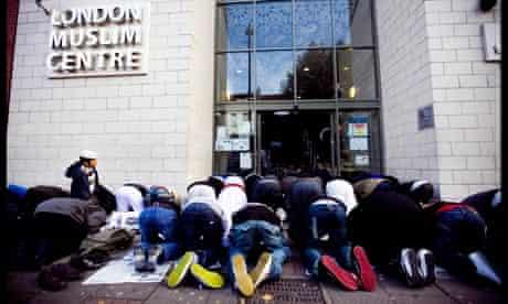 Whitechapel mosque in east London