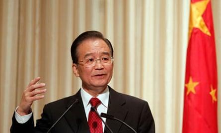 Wen Jiabao, Chinese premier