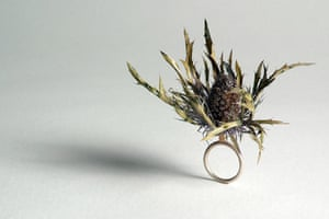 Origin craft fair: Origin thistle ring