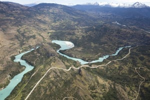 Patagonia Chile: iLCP Rave : Hydroaysen dams project on Baker and Pascua rivers