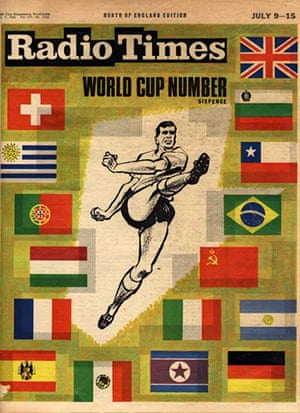 Radio Times Cover - 1966 World Cup Edition
