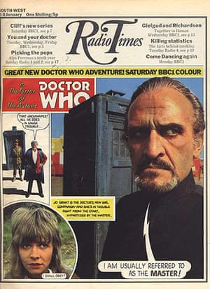 Radio Times - Cover - Dr Who - 2nd January 1971