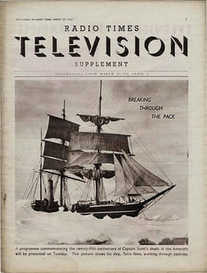 BBC Radio Times Cover - 26th March 1937