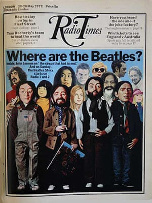 Radio Times - Cover 20th May 1972