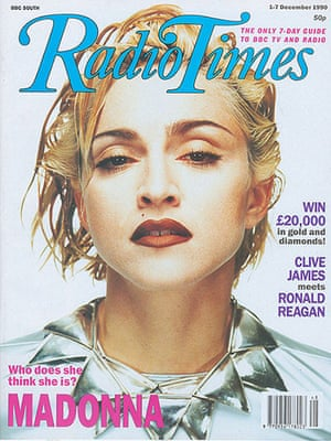 Radio Times Cover - Madonna - 1st Dec 1990