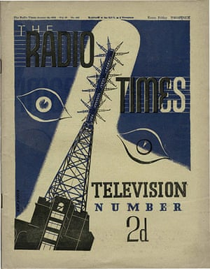 Radio Times Cover - 23rd October 1936