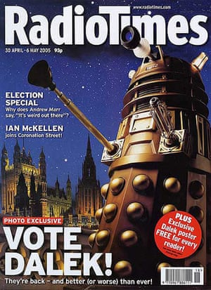 Radio Times - Cover April 30th 2005