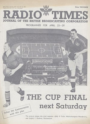 BBC Radio Times Cup Final 1939