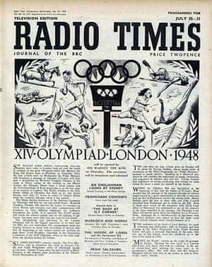 Radio Times - 1948 Olympic Edition