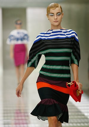 Milan Day 2 Update: Prada Spring-Summer 2011 fashion collection