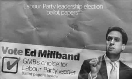 Ed Miliband GMB mail-out