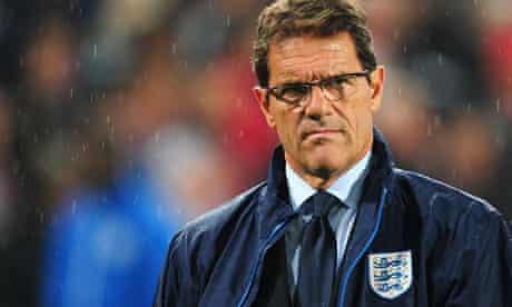 Fabio capello England friendly