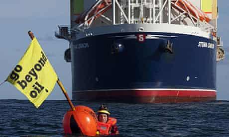 Greenpeace activists against Chevron