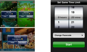 Game Time Limit for Parents - app