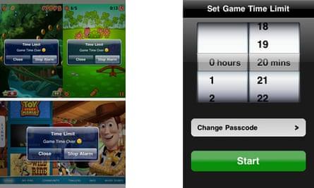 Game Time Limit for Parents - app