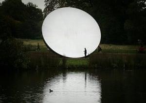 Kapoor: Sky Mirror, which measures 10 metres in diameter,