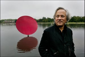 Kapoor: The work will reflect the changing colours, foliage and weather of the park