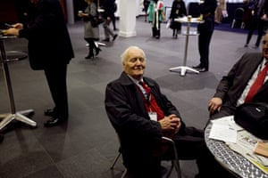 Labour party: Tony Benn at the conference