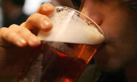 beer drinking