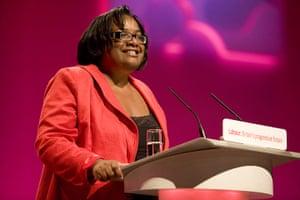 Labour conference: Diane Abbott MP addresses delegates at the Labour party conference