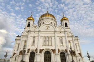 Moscow: The Cathedral of Christ the Saviour in Moscow