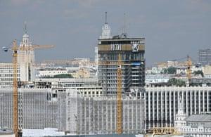 Moscow: The Hotel Rossiya