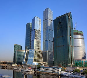 Moscow: Moscow International Business Center (Moscow-City), Moscow, Russia