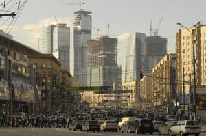 Moscow: Moskva-City international business centre