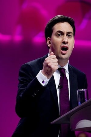 Labour party conference: Ed Miliband delivers his first speech to the Labour Party conference