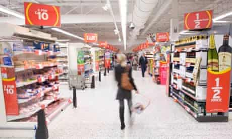Supermarket food offers